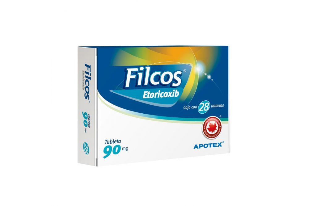 Filcos 90 mg Caja Con Blíster Con 28 Tabletas