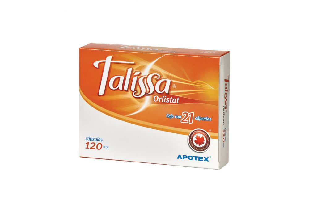 Talissa 120 mg Caja Con Blister Con 21 Cápsulas