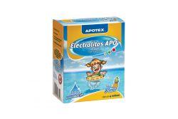 Electrolitos Apo Caja Con 4 Sobres De 28.3 g Sabor Piña