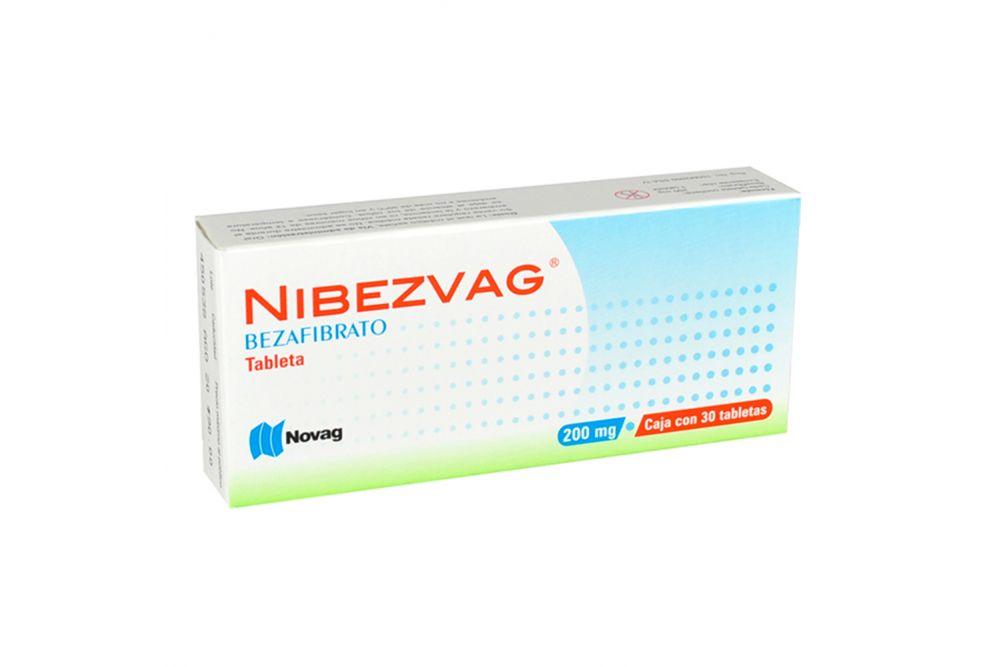 Nibezvag 200 mg Caja Con 30 Tabletas
