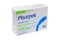 Pisarpek 500 mg Caja Con 30 Tabletas