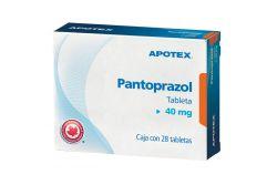 Pantoprazol 40 mg Caja Con Blíster Con 28 Tabletas