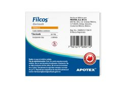 Filcos 120 mg Caja Con Blíster Con 7 Tabletas