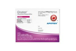 Circutast 450 mg/ 50 mg Caja Con Blíster Con 20 Tabletas