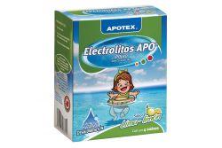 Electrolitos Apo Caja Con 4 Sobres De 28.3 g Sabor Lima - Limón