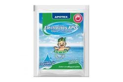 Electrolitos Apo Caja Con 4 Sobres De 28.3 g Sabor Limón