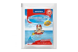 Electrolitos Apo Baja Osmolaridad Caja Con 4 Sobres De 20.7 g Sabor Manzana