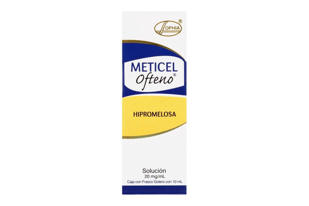 Meticel Ofteno Caja con Frasco Gotero 10 mL
