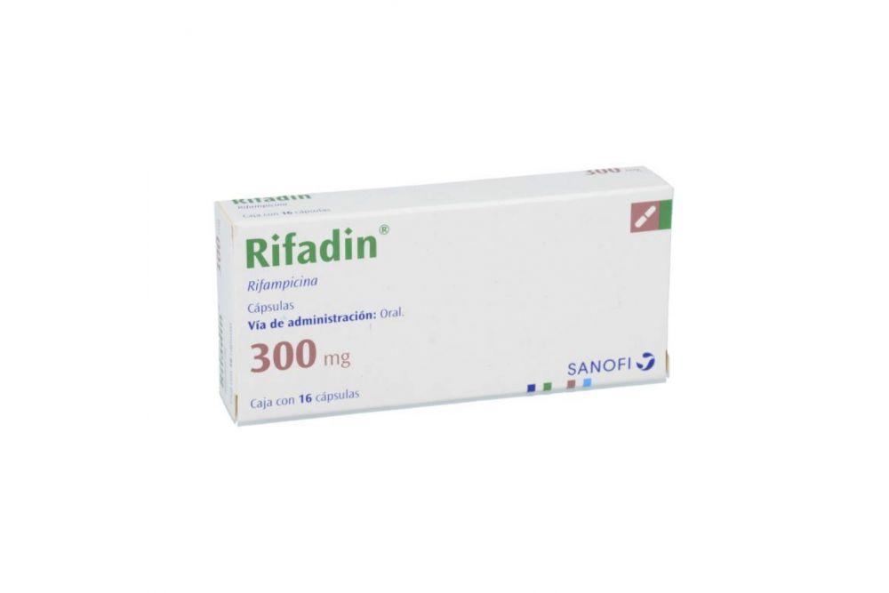 Rifadin 300 mg Caja Con 16 Cápsulas -RX2