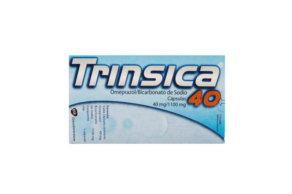 Trinsica 40 40mg/1100mg Caja Con 40 Tabletas