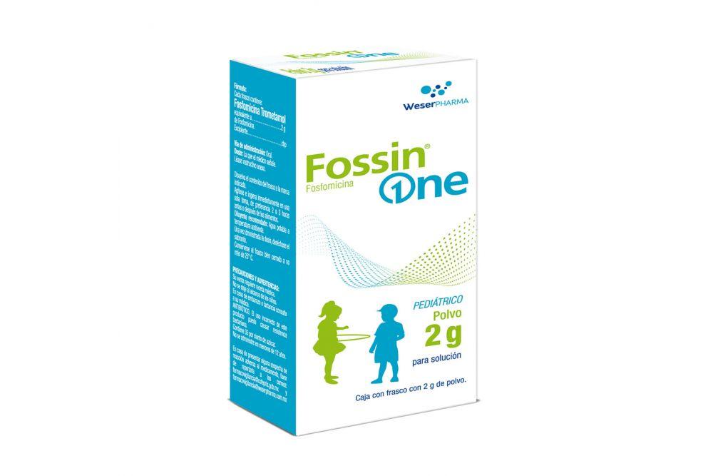 Fossin One Pediátrico Caja Con Frasco Con 2 g De Polvo Para Solución - RX2