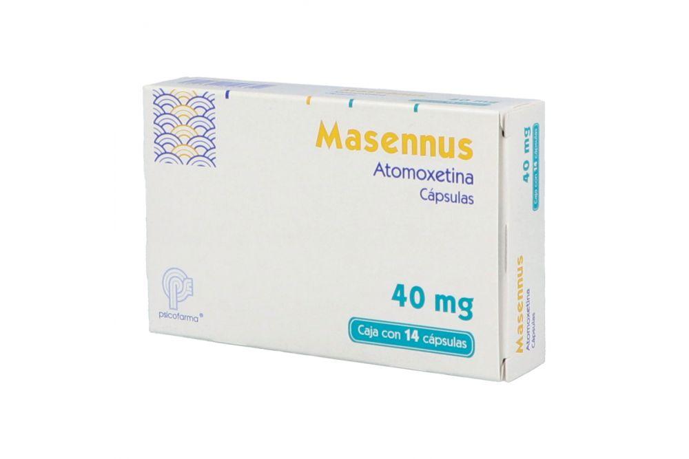 Masennus 40 mg Caja Con 14 Cápsulas