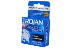 Trojan Clásico-Enz Condón Lubricado Caja Con 3 Condones