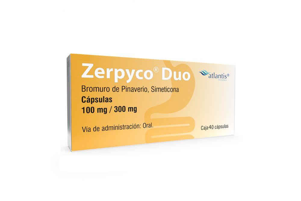 Zerpyco Duo 100 mg/300 mg Caja Con 40 Cápsulas