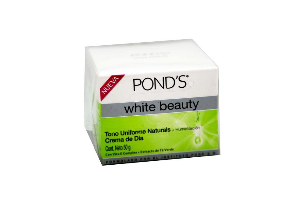 Pond´s White Beauty Tono Uniforme Naturals Crema De Día  Caja Con Tarro Con 50g