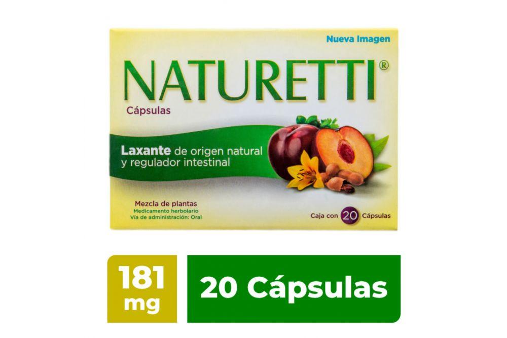 Naturetti Caja Con 20 Cápsulas