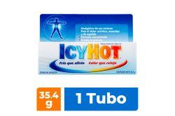 Icy Hot Crema Caja Con Tubo Con 35.4 g