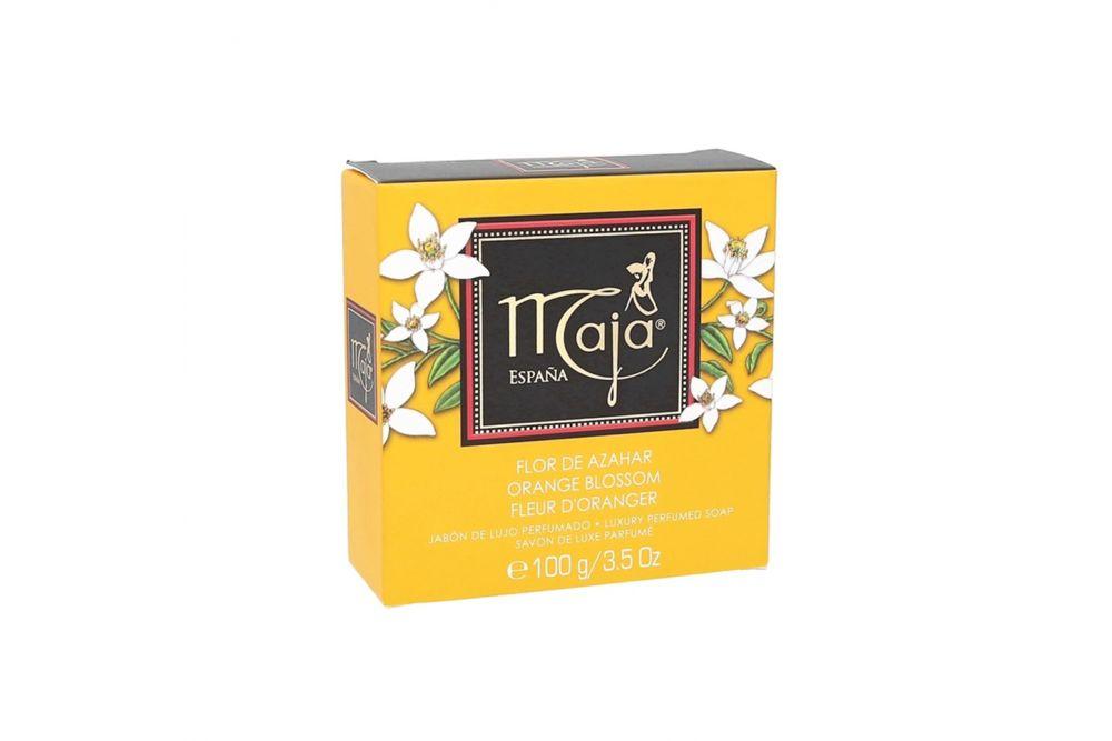 Jabón Maja Flor De Azahar Caja Con 1 Barra De 100 g