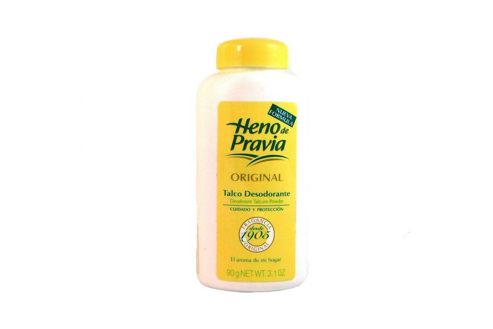 Heno De Pravia Talco Desodorante Frasco Con 90 g