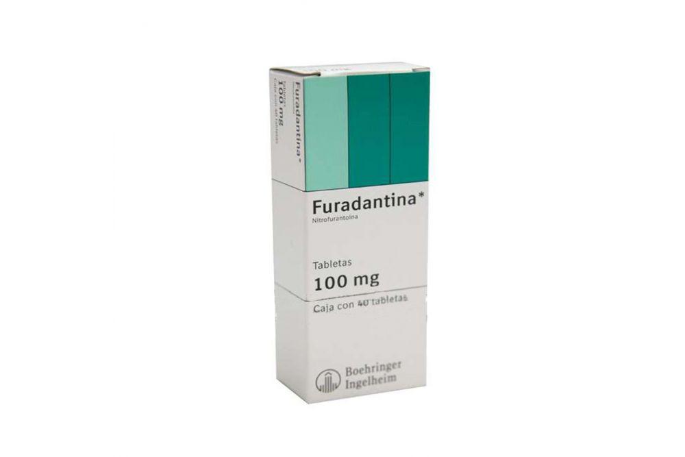 Furadantina 100mg Caja Con 40 Tabletas -  RX2