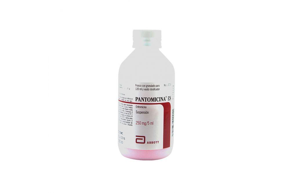 FRM-Pantomicina Es Suspensión 250 mg Frasco Con Granulado Para 120 mL-  RX2