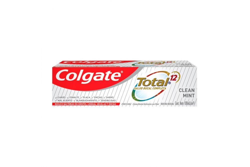 Pasta Dental Colgate Total 12 CLEANT MINT 100 mL