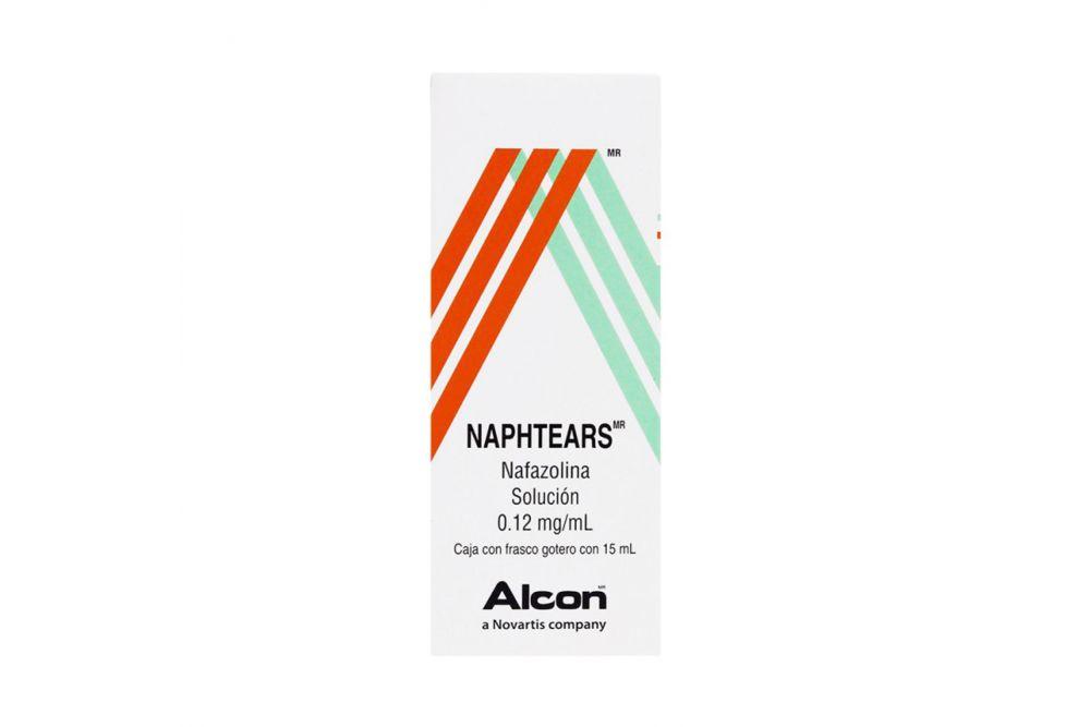 Naphtears Solución Caja Con Frasco Con 15mL