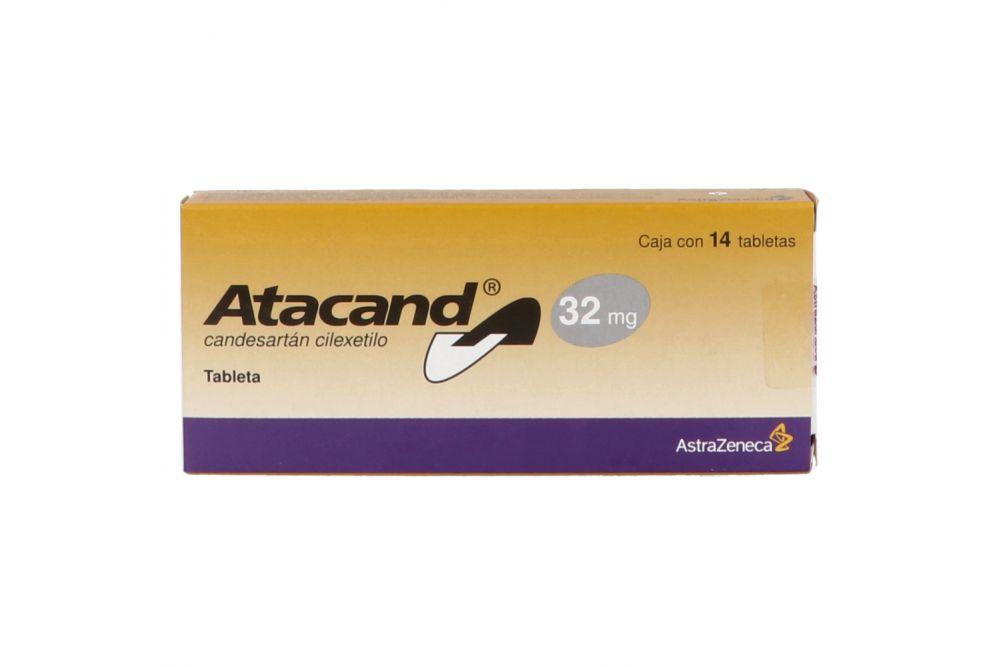 Atacand 32 mg Caja Con 14 Tabletas
