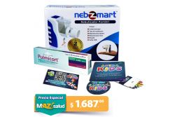 Kit Niños Nebulizador Nebzmart+ Pulmicort 250 mg