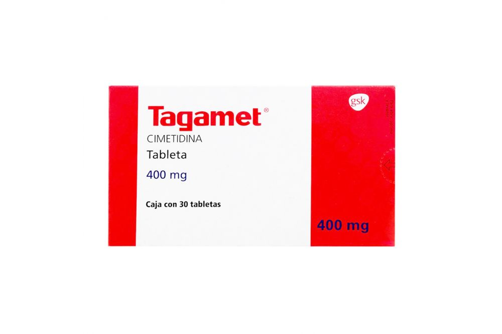 Tagamet 400 mg Caja Con 30 Grageas