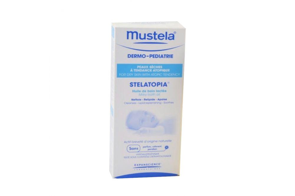 Mustela Stelatopia Aceite De Baño Botella Con 200 mL
