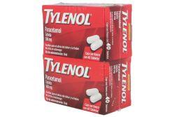 Tylenol 500 mg 40 Tabletas DuoPack