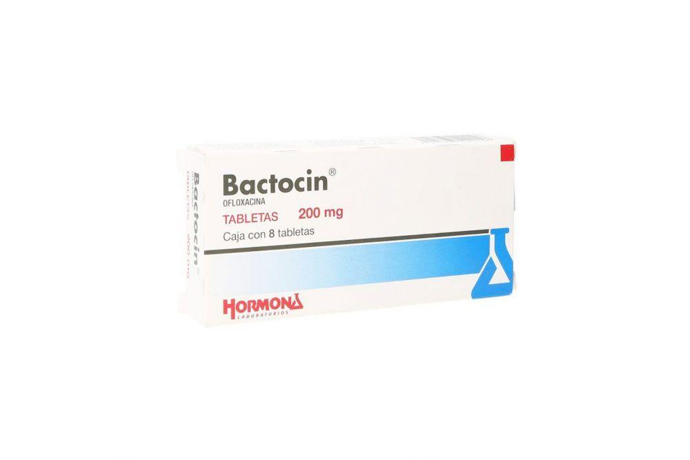 Bactocin 200 mg Caja Con 8 Tabletas -RX2