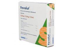 Fevolut 0.5 mg/2.5 mg/2.5 mL Caja Con 2 Sobres Con 5 Ampolletas De 2.5 mL