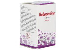 Gabapentina 300 mg Caja Con 30 Cápsulas.