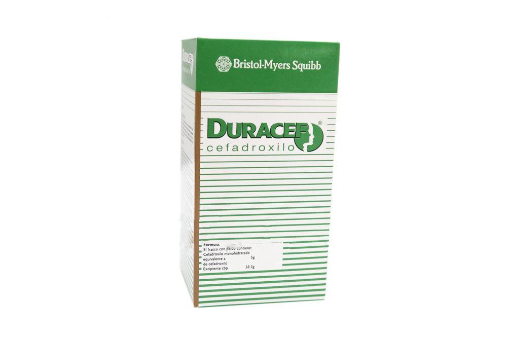 Duracef Suspensión 250 mg/ 5 mL Frasco Con Polvo Para 100 mL RX2
