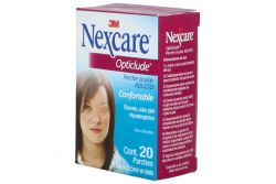 Parche Ocular 3M Nexcare Opticlude Caja Con 20 Piezas