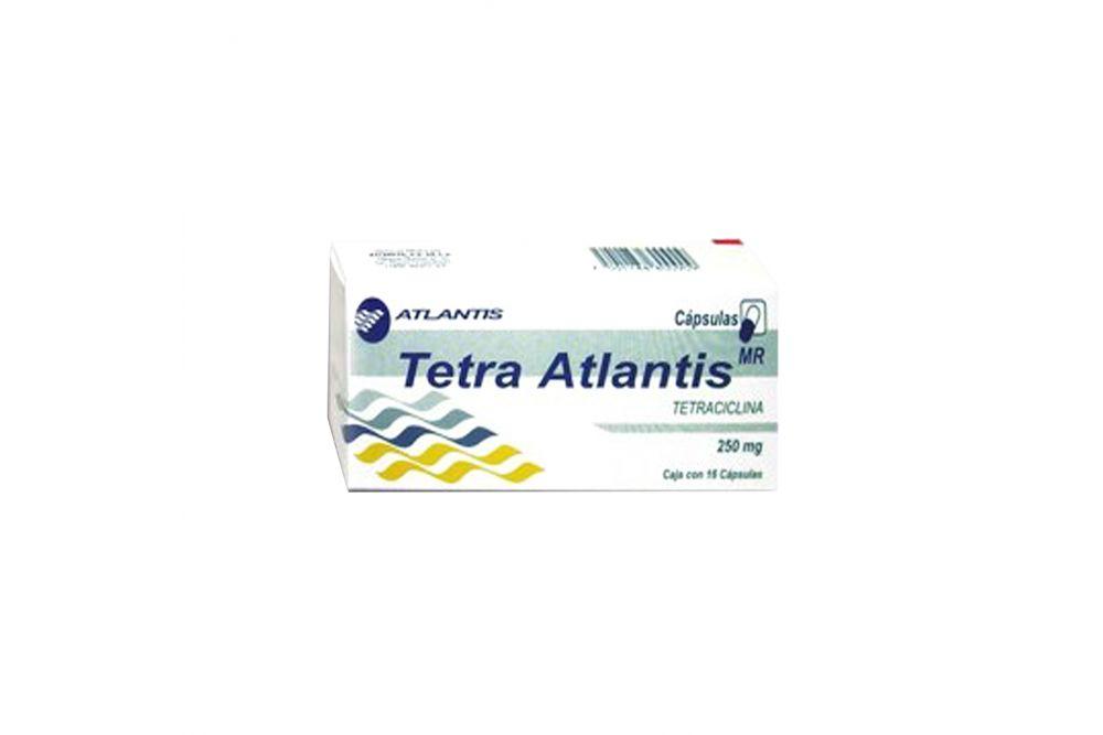Tetra Atlantis 250 mg Con 16 Cápsulas -RX2
