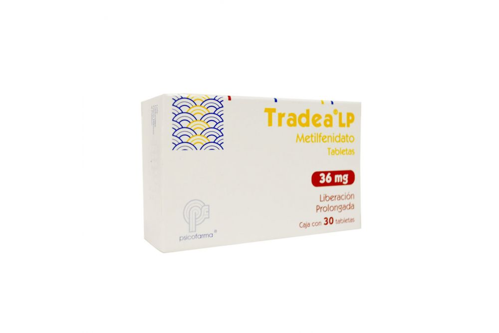 Tradea Lp 36 mg Caja Con 30 Tabletas De Liberación Prolongada - RX1
