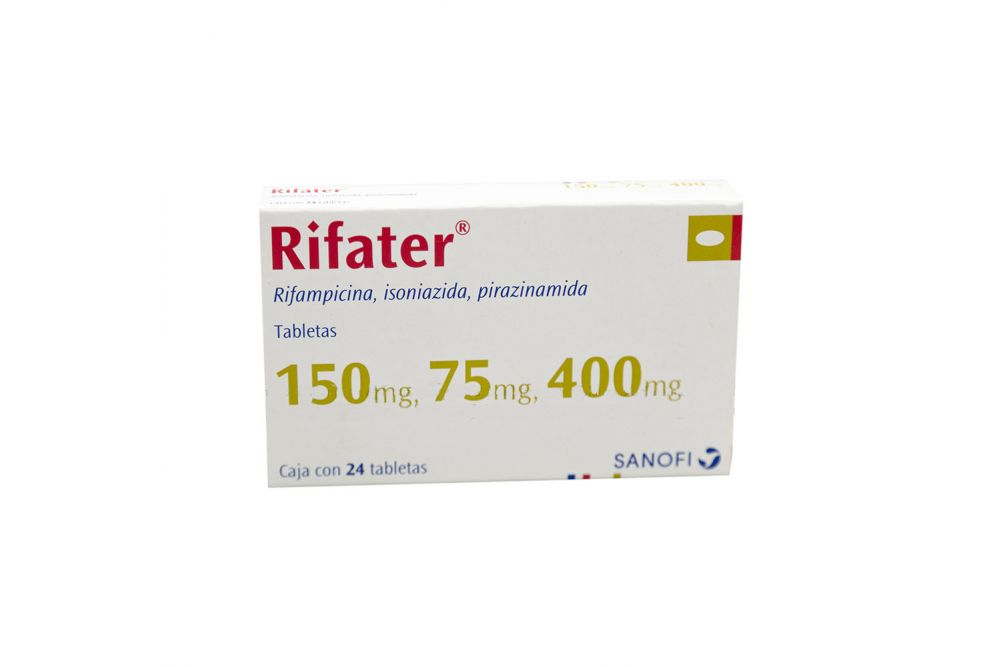 Rifater 150mg/75mg/400mg Caja Con 24 Tabletas - RX2