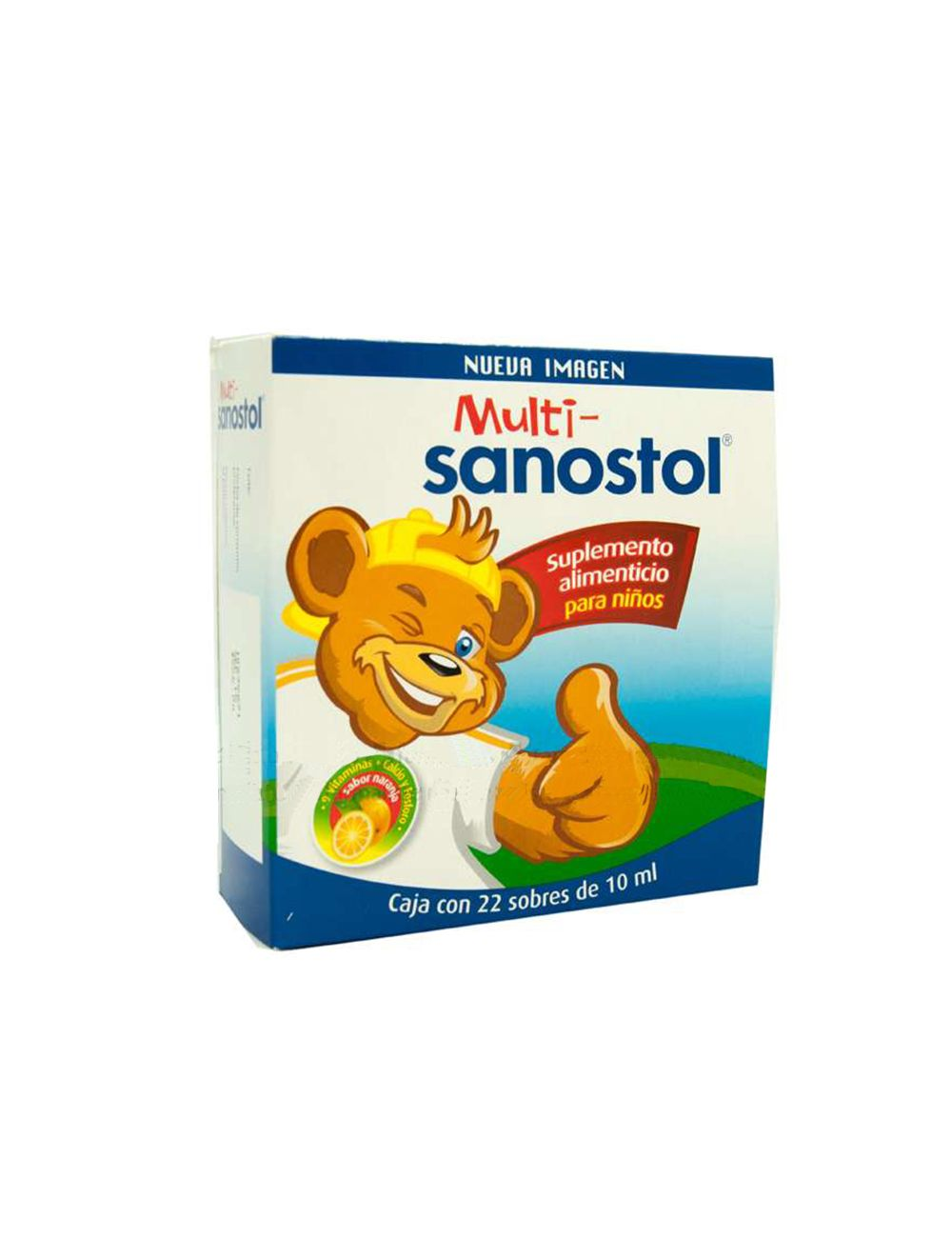 Multi-Sanostol Caja Con 22 Sobres Con 10mL