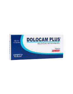 Dolocam Plus 15 mg / 215 mg Caja Con 10 Cápsulas