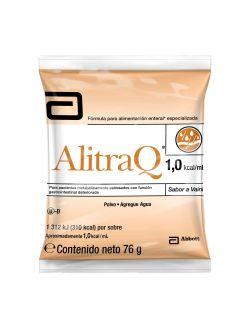 FRM-Alitraq 76 g Caja Con 6 Sobres Sabor Vainilla