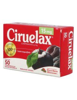 Ciruelax Caja Con 50 Comprimidos
