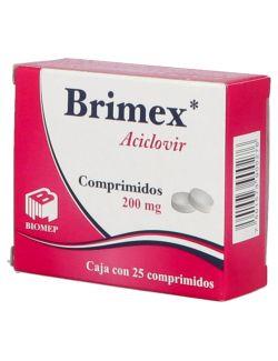 Brimex Aciclovir 25 Comprimidos 200 mg