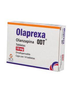 Olaprexa Odt 10 mg  Caja Con 14 Tabletas