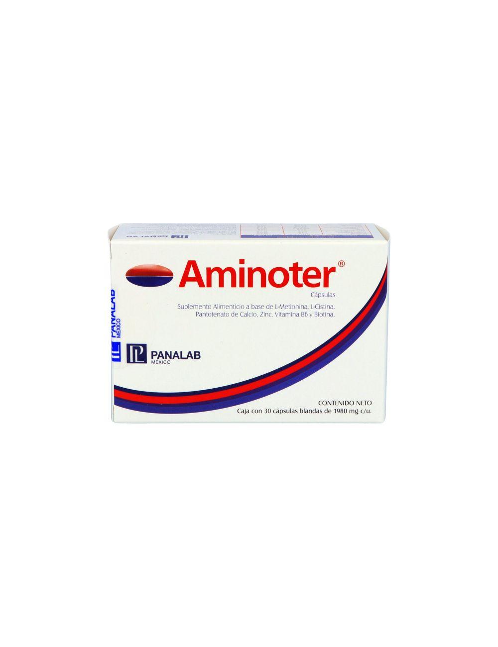 Aminoter Caja Con 30 Cápsulas.