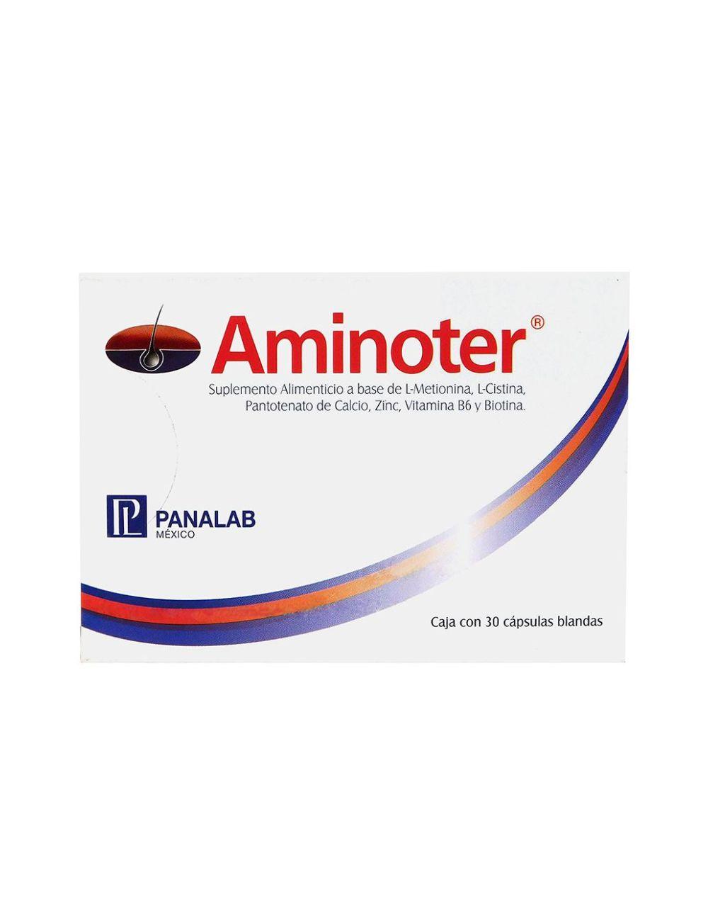 Aminoter Caja Con 30 Cápsulas