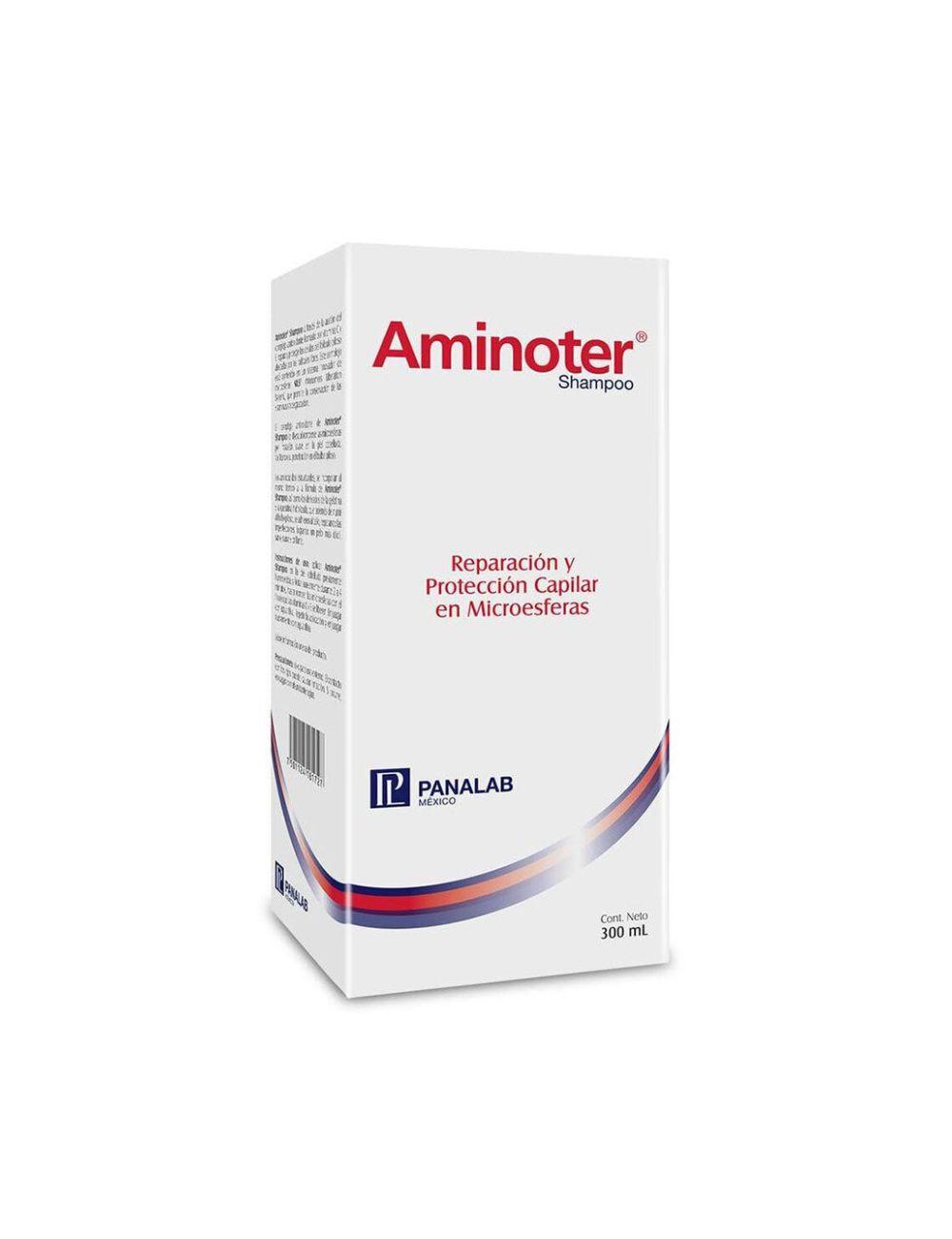 Aminoter Shampoo Caja Con Botella 300mL