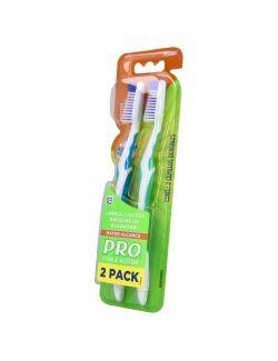 Cepillo Dental Pro Doble Acción Empaque 2x1 Precio Especial